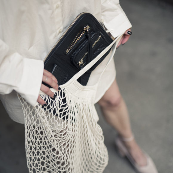 TREND REPORT: KNITTED NET BAG